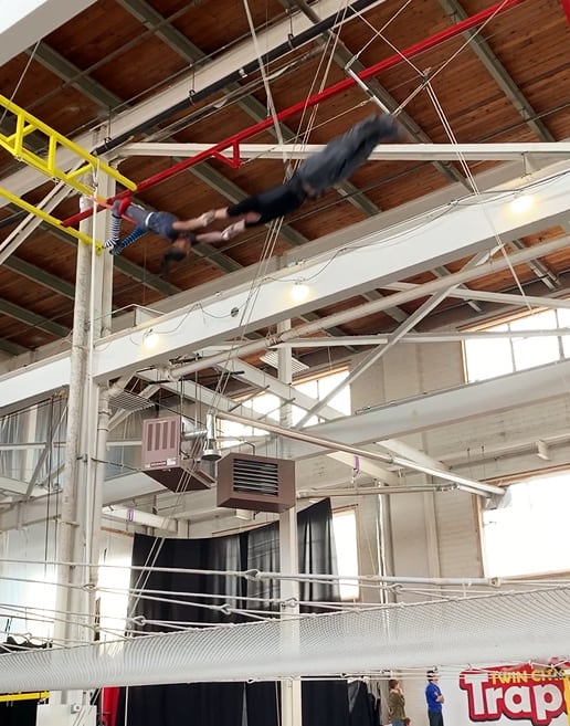 twin cities trapeze park