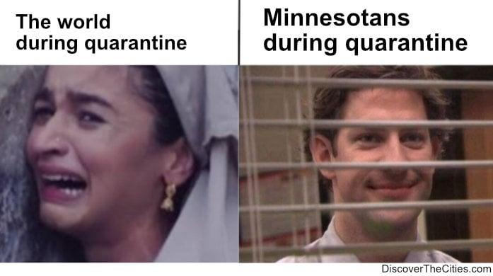 minnesotans vs. the world quarantine