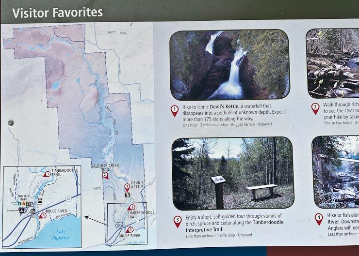 judge cr magney state park map