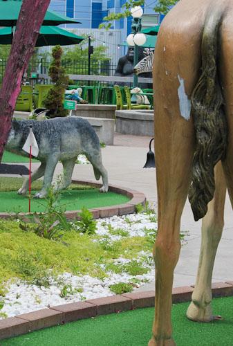 betty dangers in minneapolis, mn - miniature golf