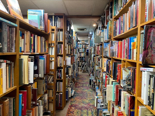huge book selection