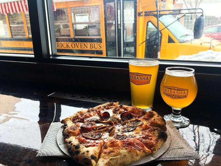 breweries with food in Minneapolis St. Paul