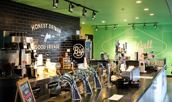 coffee shops in west seventh st paul