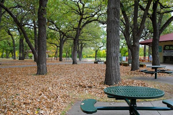 picnic table minnehaha falls