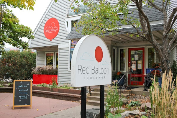 red balloon childrens bookstore