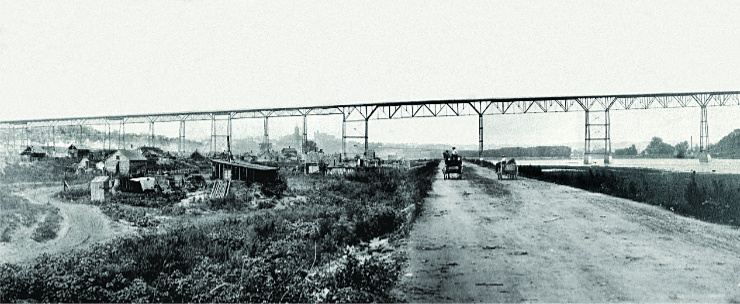 west seventh in 1889