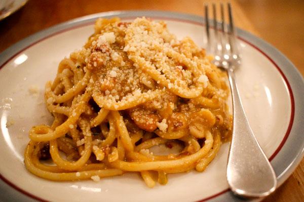 pumpkin spaghetti