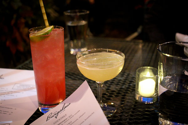 the bungalow club drinks