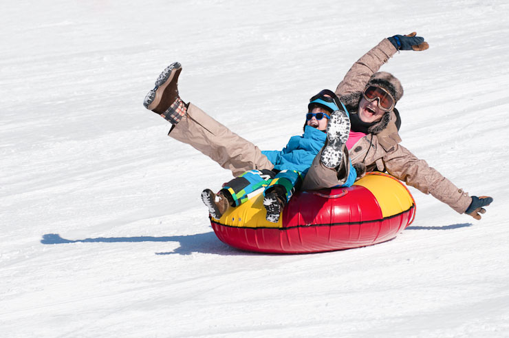 snow tubing near minneapolis guide