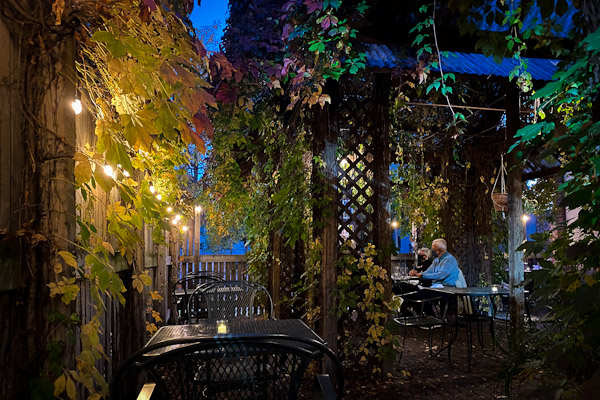 fancy romantic patio - bungalow club